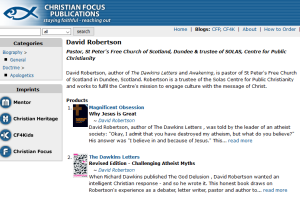 David Robertson -Christian Focus