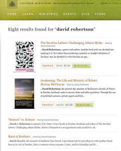 David Robertson -Ligonier Ministries