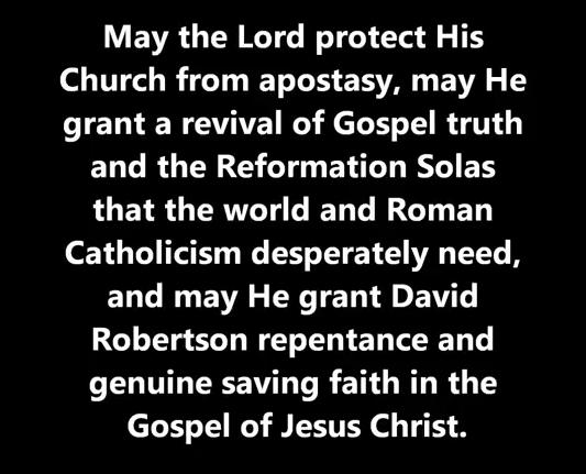 David Robertson repentance