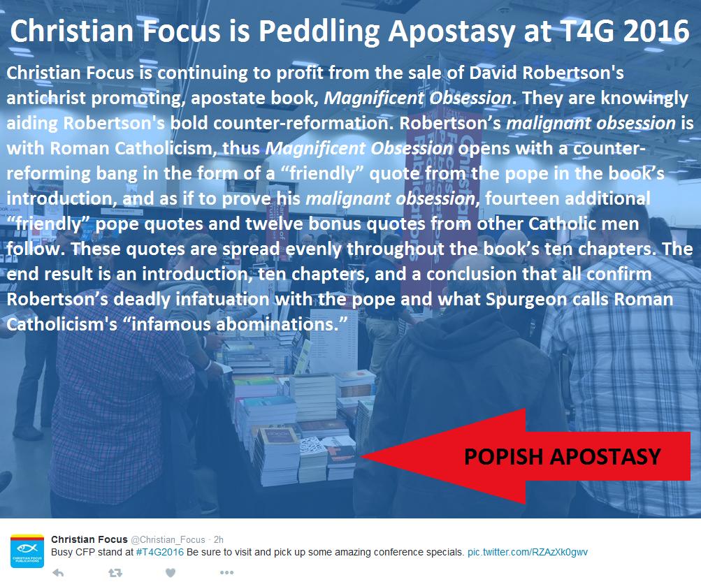 David Robertson -T4G APOSTASY 2